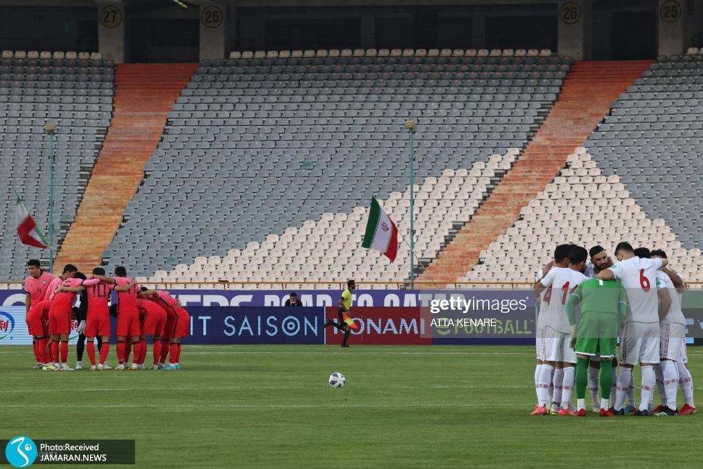 تیم ملی فوتبال ایران کره جنوبی انتخابی جام جهانی