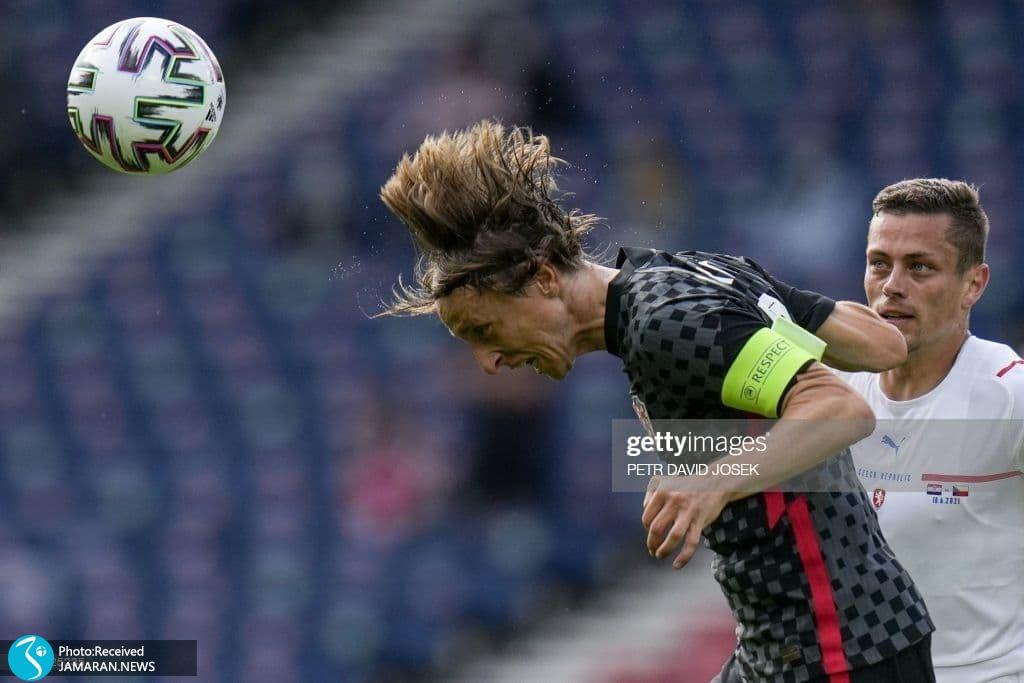 لوکا مودریچ یورو 2020 - تیم فوتبال کرواسی و جمهوری چک