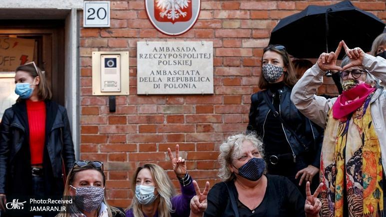 اعتراض+به+قانون+ممنوعیت+سقط+جنین+در+لهستان،+جهانی+شد