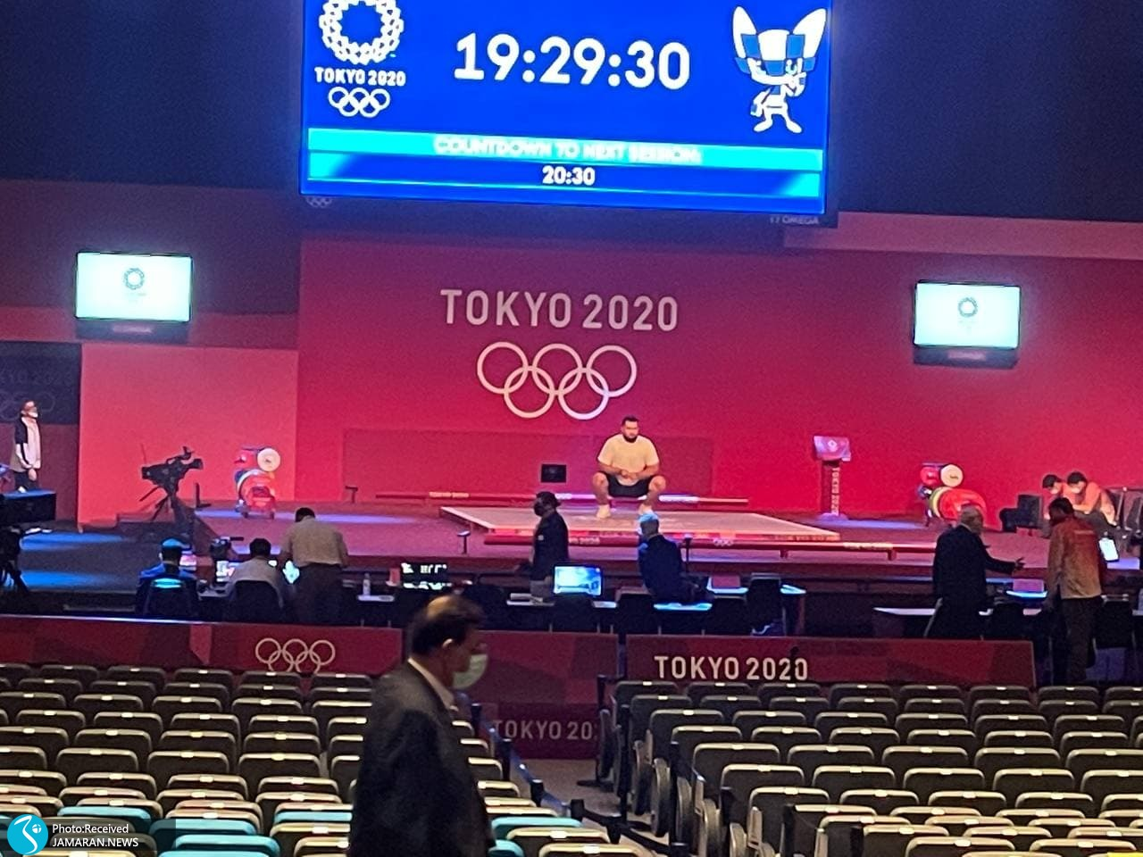 علی داودی وزنه برداری المپیک 2020 توکیو