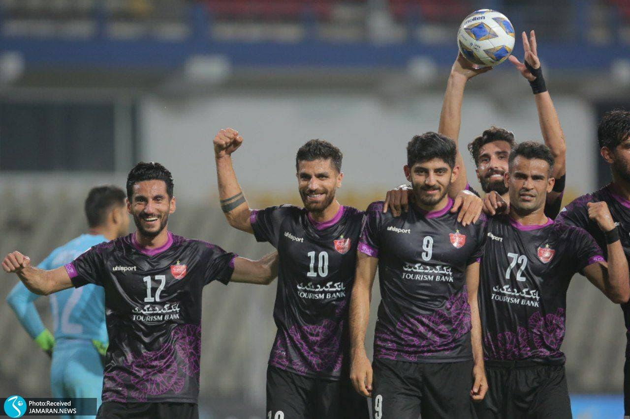 لیگ قهرمانان آسیا پرسپولیس گوا هند