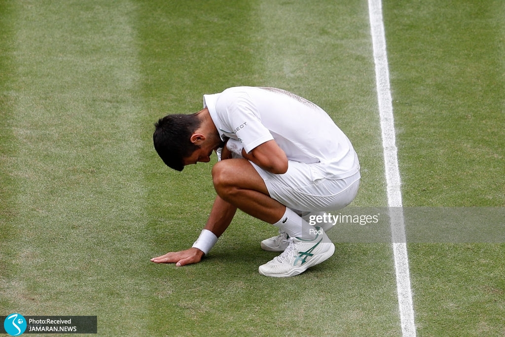 قهرمانی نواک جوکوویچ در تنیس ویمبلدون