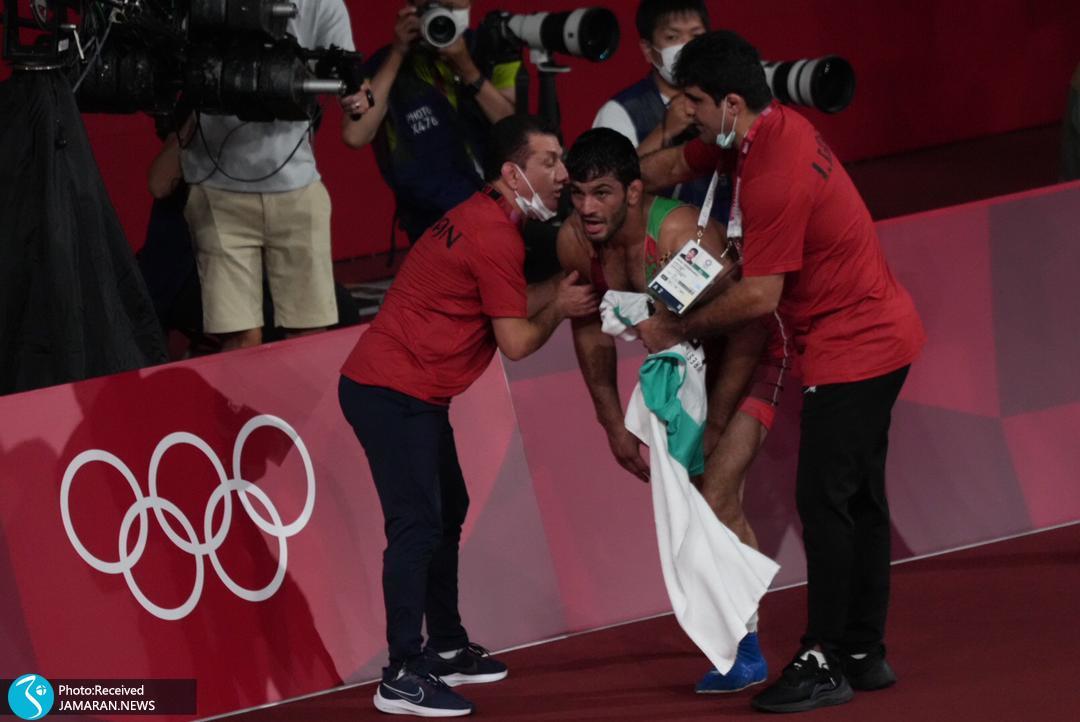 عصبانیت شدید حسن یزدانی پس از دست دادن مدال طلا المپیک 2020
