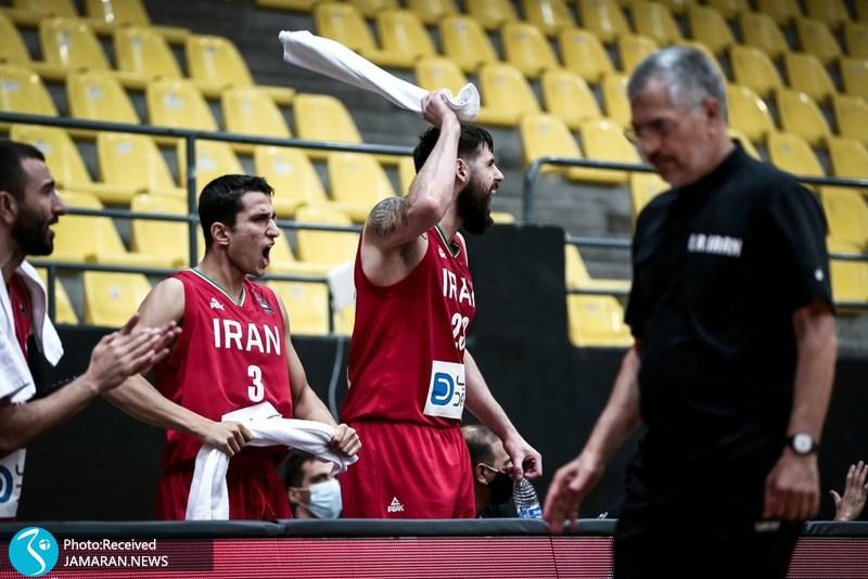بسکتبال انتخابی کاپ آسیا/ ایران - عربستان