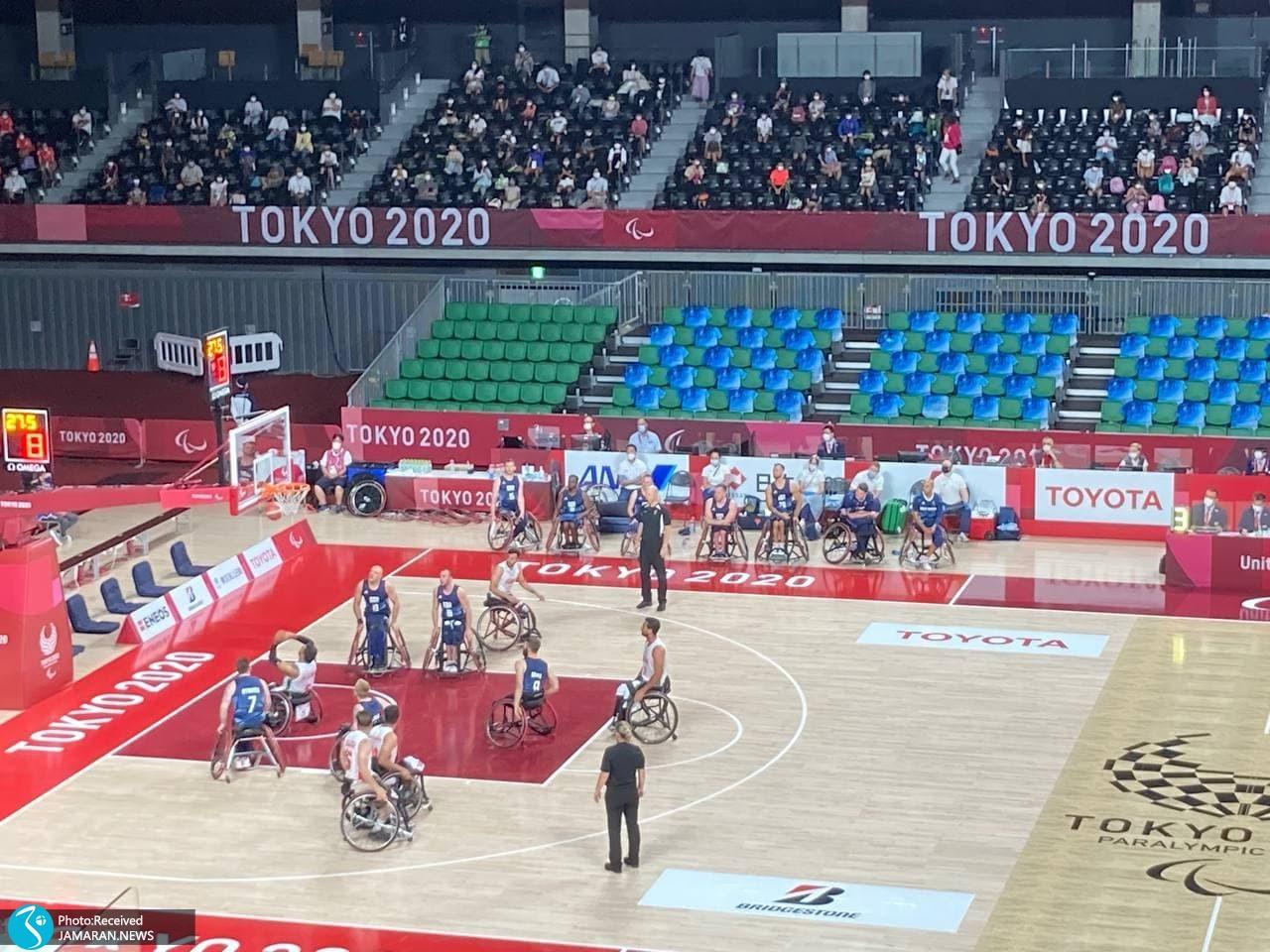 بسکتبال با ویلچر پارالمپیک 2020 - ایران - بریتانیا