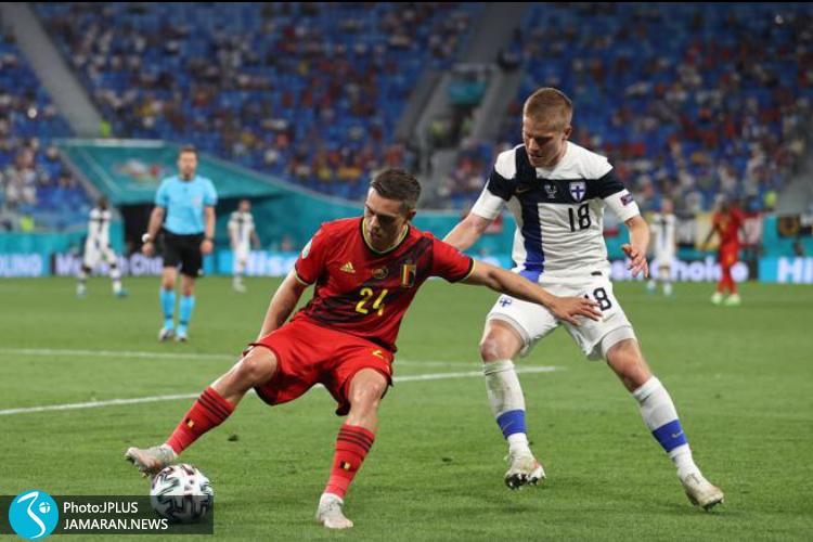 یورو ۲۰۲۰ - فنلاند و بلژیک
