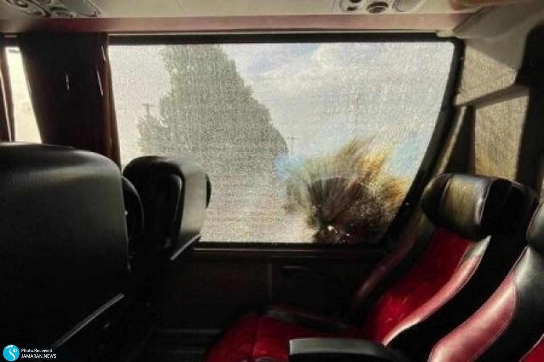 حمله به اتوبوس دورتموند و پرسپولیس