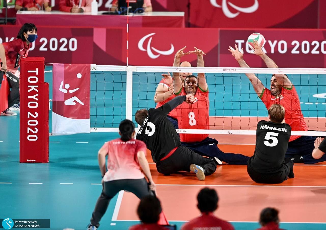 تیم ملی والیبال نشسته ایران در پارالمپیک 2020 توکیو