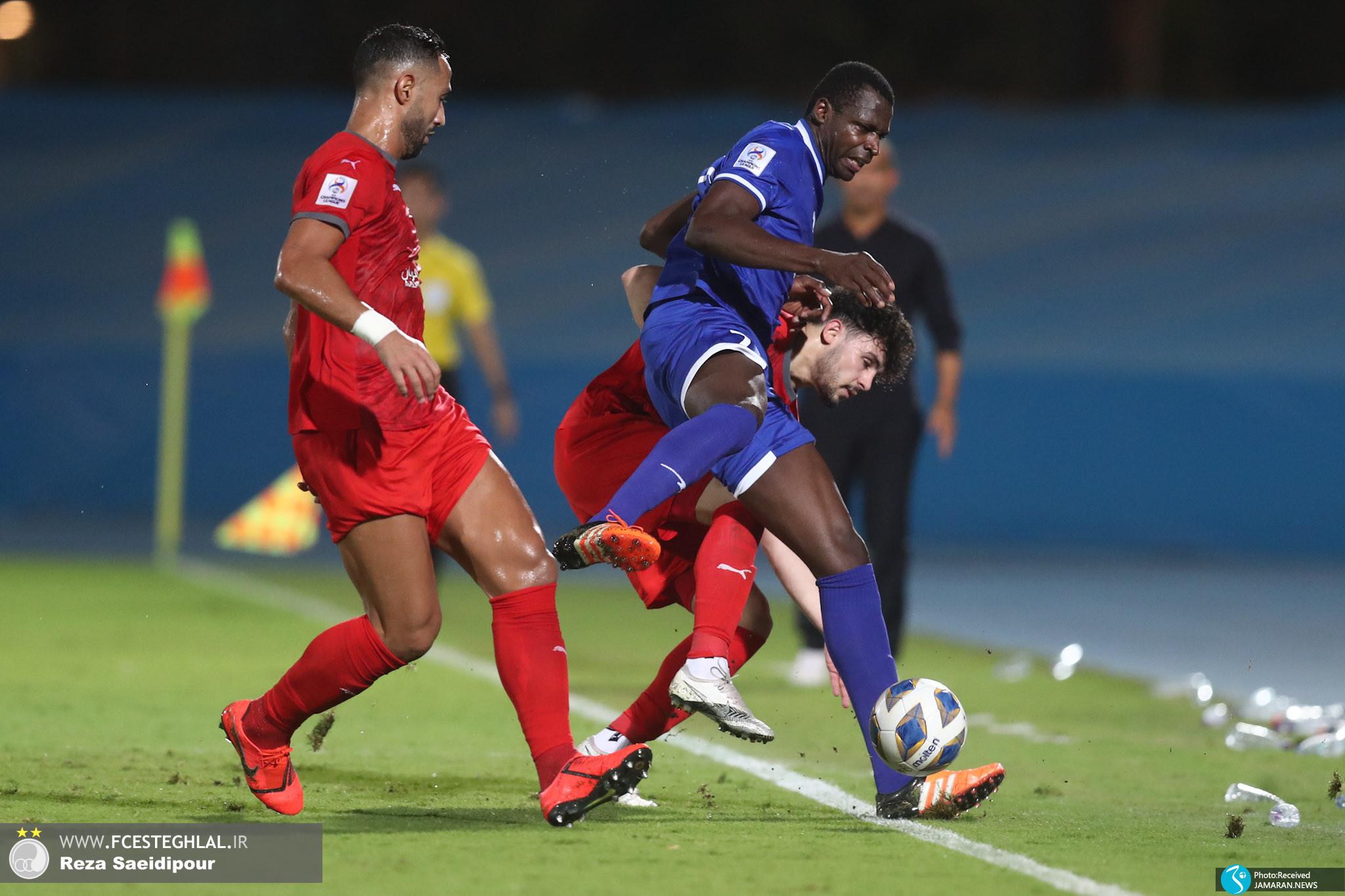 لیگ قهرمانان آسیا استقلال الدحیل قطر شیخ دیاباته