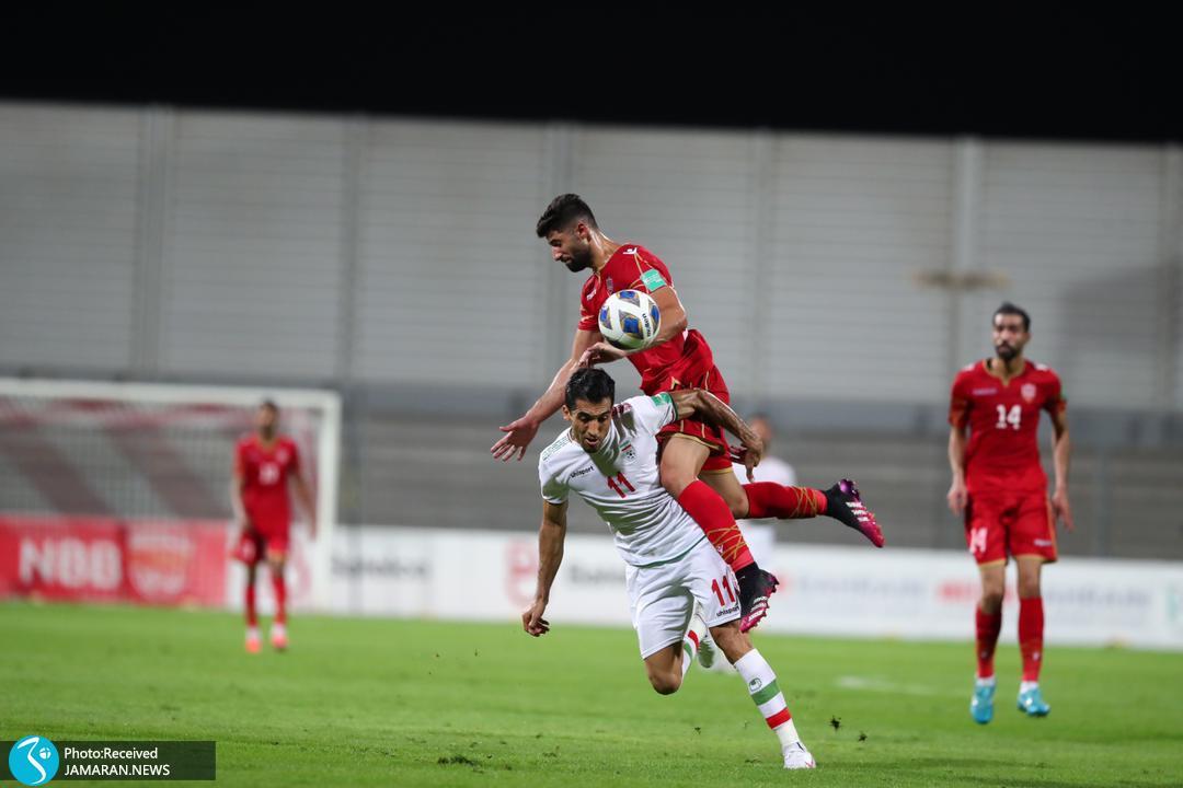 تیم ملی فوتبال ایران - ایران و بحرین وحید امیری