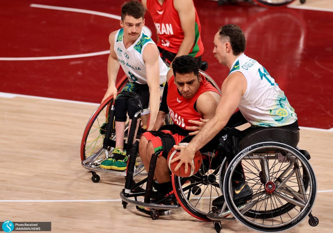 بسکتبال با ویلچر ایران در پارالمپیک توکیو