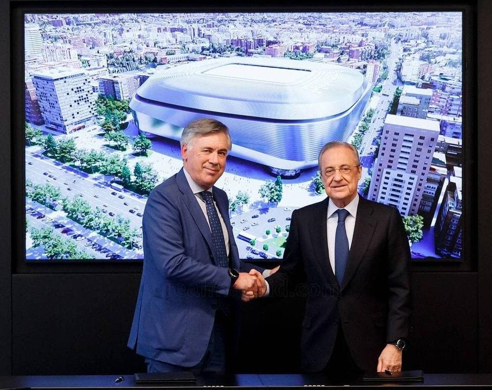 کارلو آنچلوتی به رئال مادرید برگشت