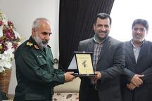 سپاه بازوی توانمند در پیشبرد اهداف انقلاب اسلامی است