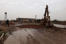 ستاد بحران برای مقابله با سیل در روستاهای اهواز تشکیل شد