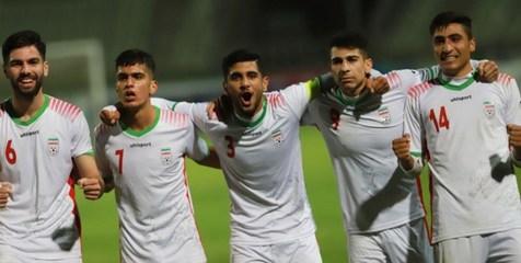 ایران ۲ - امارات صفر/ صعود تیم جوانان ایران به عنوان صدرنشین
