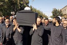 پیکر یکی از بنیانگذاران حزب الله لبنان در قم تشییع شد