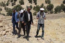 عملیات کاوش باستانشناسی در سادات محمودی دنا انجام شد
