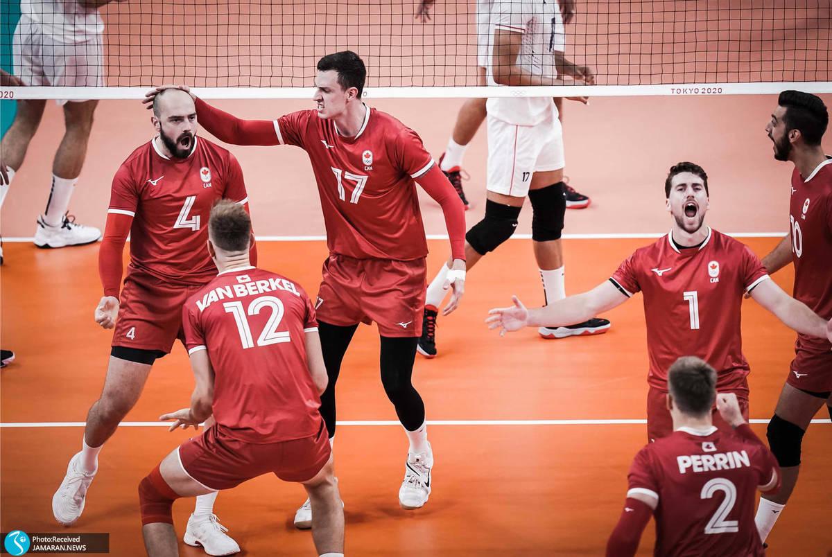 اظهارنظر سرمربی کانادا بعد از برد ایران در المپیک توکیو