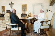 گزارش ظریف از دیدارش با پاپ فرانسیس و دیگر مقامات واتیکان + تصاویر و فیلم
