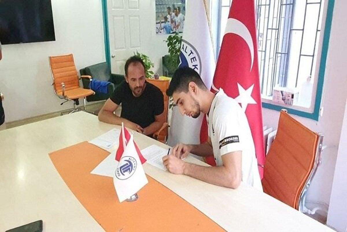 بازیکن تیم ملی والیبال به سوپرلیگ ترکیه پیوست+ عکس