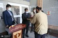 تصاویر/ تقدیر رئیس حراست کل شهرداری تهران از مدیرعامل و کارکنان بهشت زهرا (س)