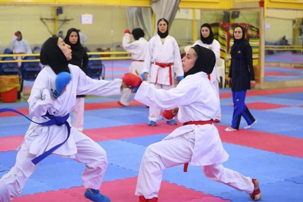 تیم بانوان ایران قهرمان پیکارهای بینالمللی کاراته در یزد شد