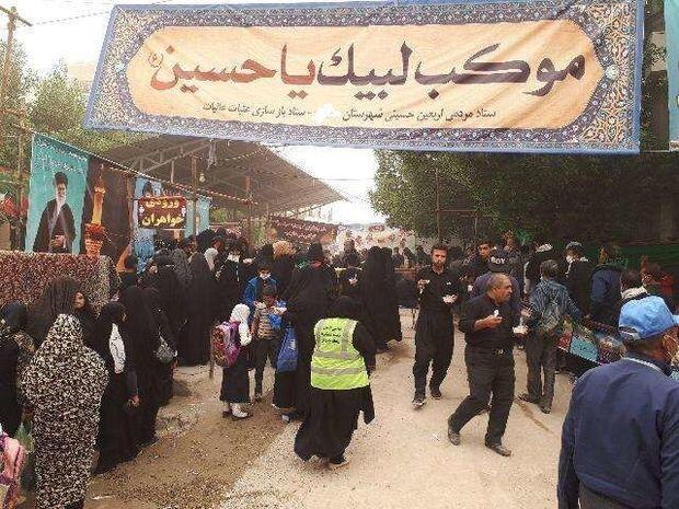 اعزام ۲۴۰ خادم موکبهای حسینی آذربایجانشرقی به سامرا