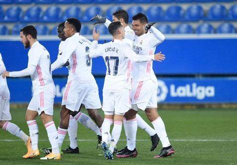بازگشت رئال مادرید به رده دوم با پیروزی مقابل اوئسکا