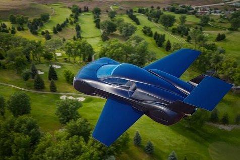 ساخت خودروی پرنده ای با سرعت پرواز ۸۰۰ کیلومتر در ساعت