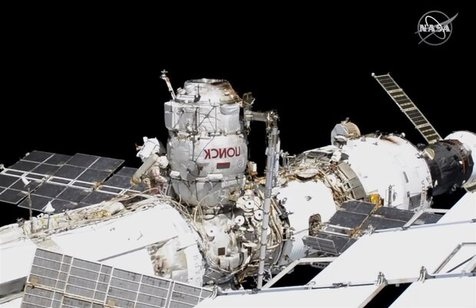 دو فضانورد روس پیاده روی فضایی انجام دادند