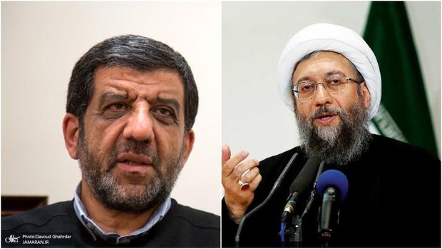 کنایه ضرغامی به آملی لاریجانی درباره دادگاه طبری؟