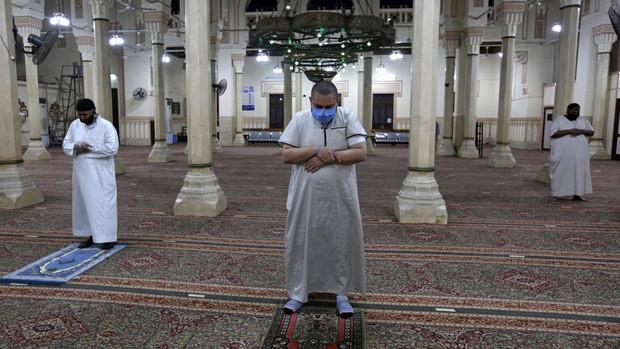 مساجد مصر.کرونا
