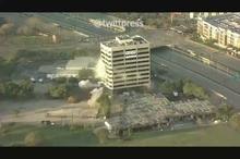 ظهور برج پیزای ایتالیایی  بعد از تخریب برج 11 طبقه