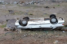 سه دانش آموز براثر تصادف در شمال سیستان وبلوچستان مجروح شدند