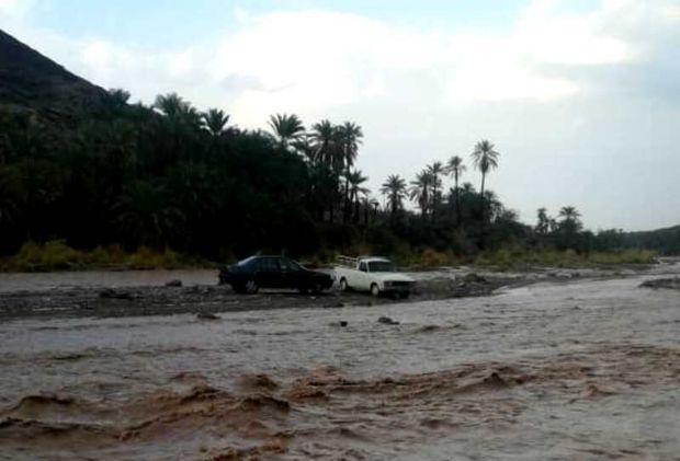 طغیان سومین سامانه بارشی در رودخانههای سیستان و بلوچستان