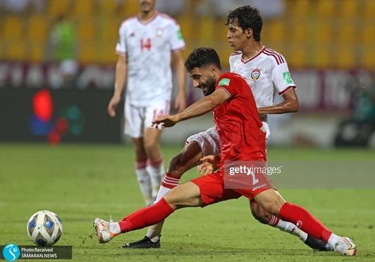صادق محرمی تیم ملی فوتبال ایران امارات انتخابی جام جهانی