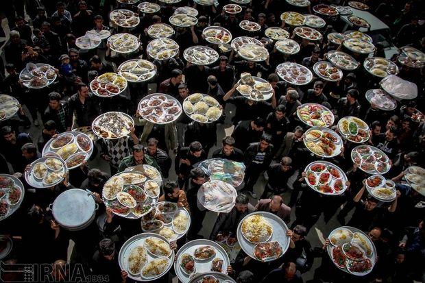 ۱۴ هزار عزادار حسینی در خوی اطعام شدند
