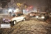 ثبت بیشترین بارش برف در بروجرد