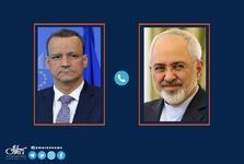 گفت و گوی ظریف با وزیر خارجه موریتانی در مورد کرونا و تحریم ها
