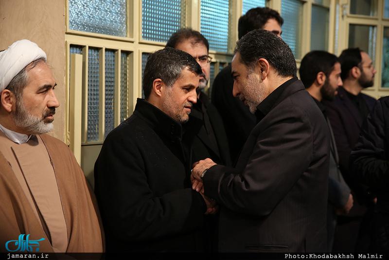 مراسم بزرگداشت آیت الله هاشمی رفسنجانی(ره) در حسینیه جماران-1