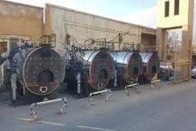 بیمارستان مهاباد به 4 دستگاه دیگ بخار جدید مجهز شد
