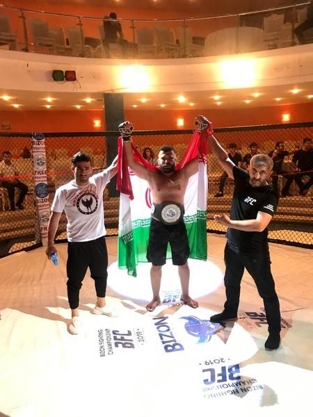 ورزشکار شیرازی سکوی قهرمانی را فتح کرد