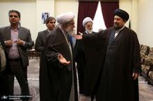 دیدار دبیرکل و مدیران مجمع جهانی اهلبیت(ع) با سیدحسن خمینی