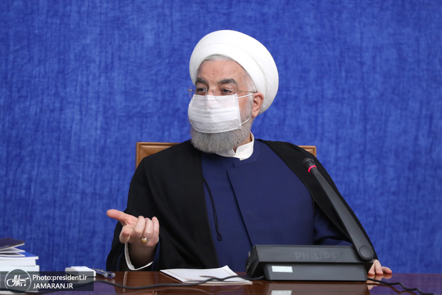 واکنش روحانی به استفاده رهبر معظم انقلاب از واکسن ایرانی کرونا