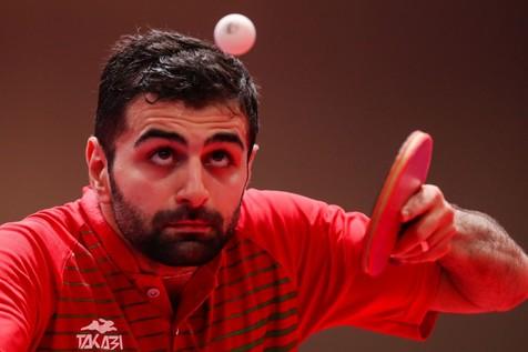 حذف نوشاد عالمیان از مسابقات تنیس روی میز انتخابی المپیک
