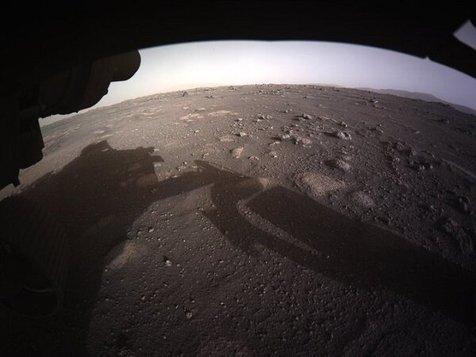 ویدیو/ فیلمی جدید از لحظه فرود مریخنورد بر سطح سیاره