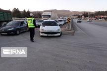 توقیف و جریمه خودروهای غیربومی در همدان