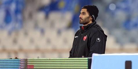توضیح محمد انصاری درباره جدایی اش به هواداران پرسپولیس+ عکس