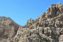 نجات 9 کوهنورد مفقود در ارتفاعات نایبند طبس