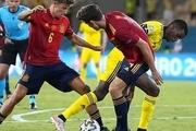 ایتالیا متوقف شد؛ اسپانیا باخت + نتایج کامل